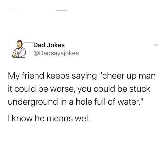 Dad Jokes Dadjokes The Dad Says Jokes Instagram Account Is Dedicated Entirely To Posting Dad Jokes With More Than 1 9 Million Loyal Followers On Inst In 2020 Memes