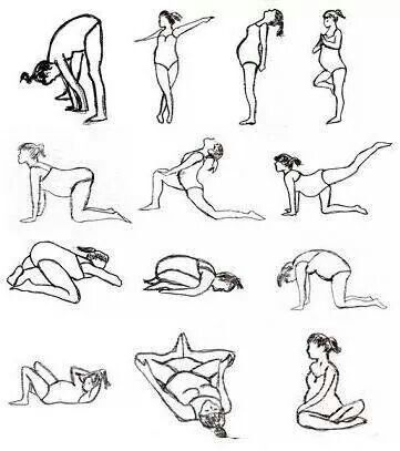 Great pregnancy stretches.