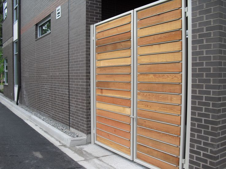 17 Best Images About Garbage Enclosures On Pinterest