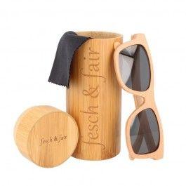 Das Leben ist schön, man muss es nur durch die richtige Brille sehen :-) Vollrand-Sonnenbrille aus Buchenholz mit UV 400 Schutzfilter. ||| Life is beautiful, you just have to see it through the right glasses :) Full-frame sunglasses made of beech wood with UV 400 protection (index 3)  EU-wide shipping!