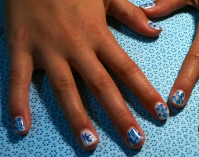 Funky Kc Royals Nail Art Images - Nail Paint Design Ideas ...