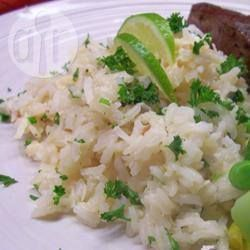 Coconut Rice with Lime @ allrecipes.com.au