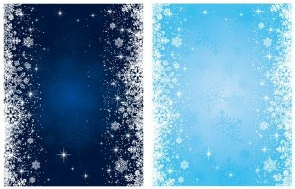 blue snowflake background vector Snowflake background