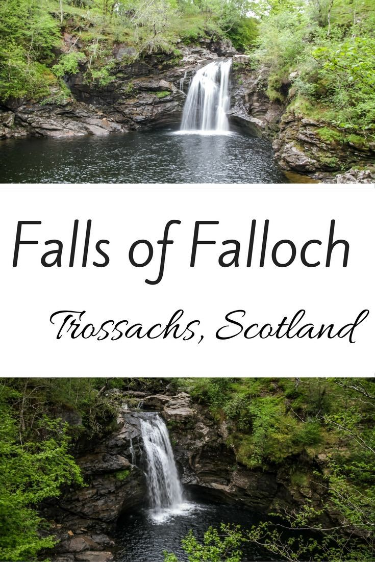 The Falls of Falloch Scotland is a popular stop on the road to Glencoe and the isles. Located in the Trossachs National Park, 10min North of Loch Lomond, it is an easy stroll to reach this small but enchanting waterfall. Video, Photos and Planning info     **** Scotland Travel - Scotland Landscape - Scotland Photos ***
