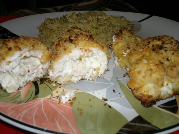 Savory Stuffed Chicken Breasts (Seasoned Cream Cheese Stuffing ...