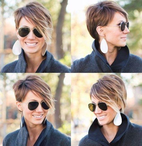 15 coiffures asymétrique avec un effet Wow ! - Coupe Courte Femme