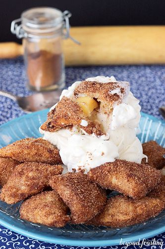 Fried apple pies, Fried apples and Apple pie bites on Pinterest