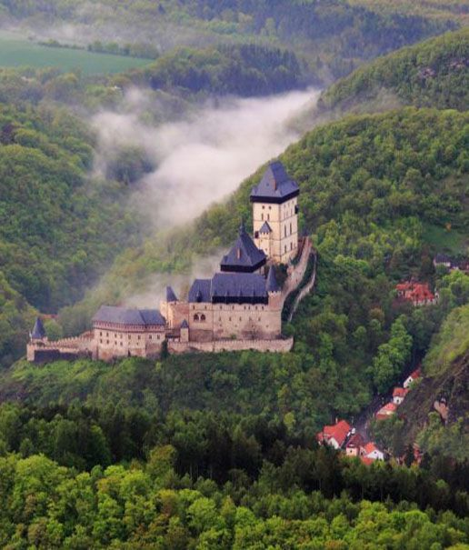 Karlův Týn (Karlštejn) in Central Bohemia, Czechia