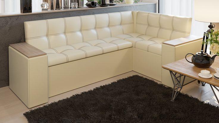 Скамья угловая со спальным местом «Остин» купить за 17 990 руб   Мебельный интернет-магазин ТриЯ