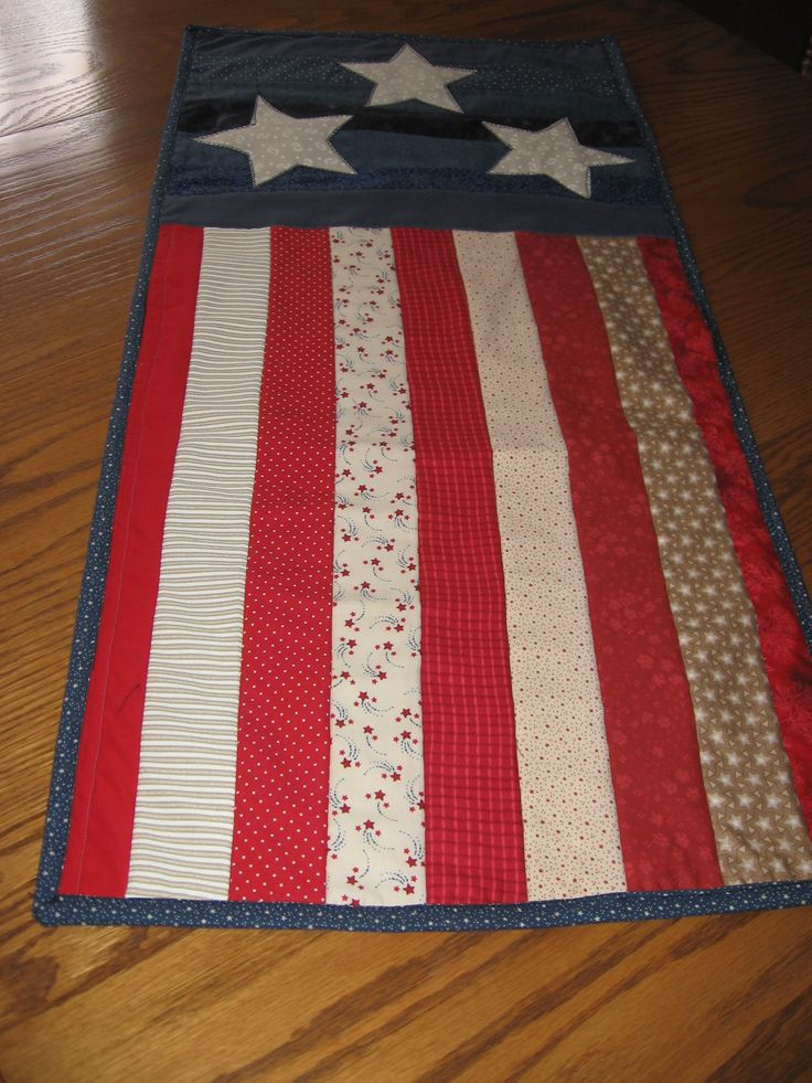 316 Best Americana Flag Quilts Images On Pinterest