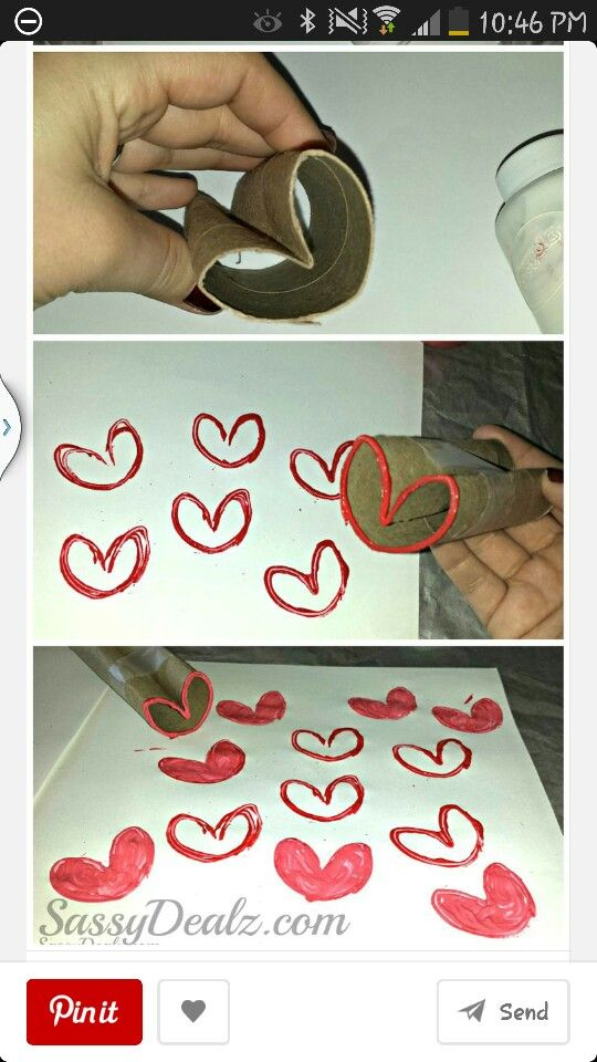 Valentines Day crafts for kiddos
