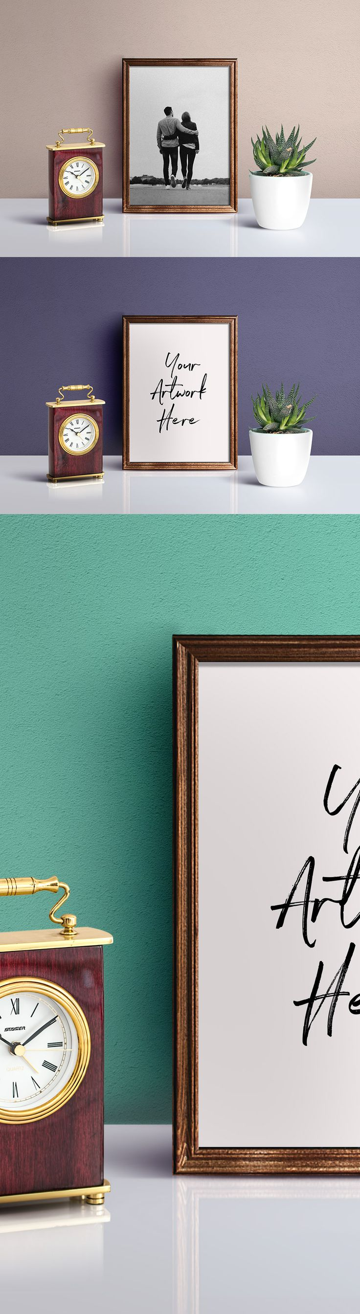 Picture Frame Mockup PSD Free