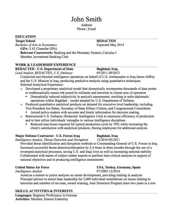 Non Traditional Student Former Analyst Resume Review Requ Resume Template Resume Design Template Resume