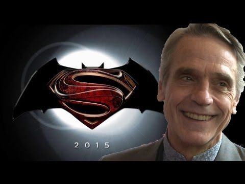 Jeremy Irons talks Batman vs. Superman - and playing Alfred  - Click Through To Read More!