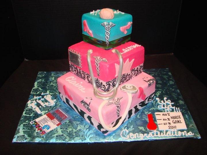 Nurse Cake Doctor/Nurse Cakes Pinterest