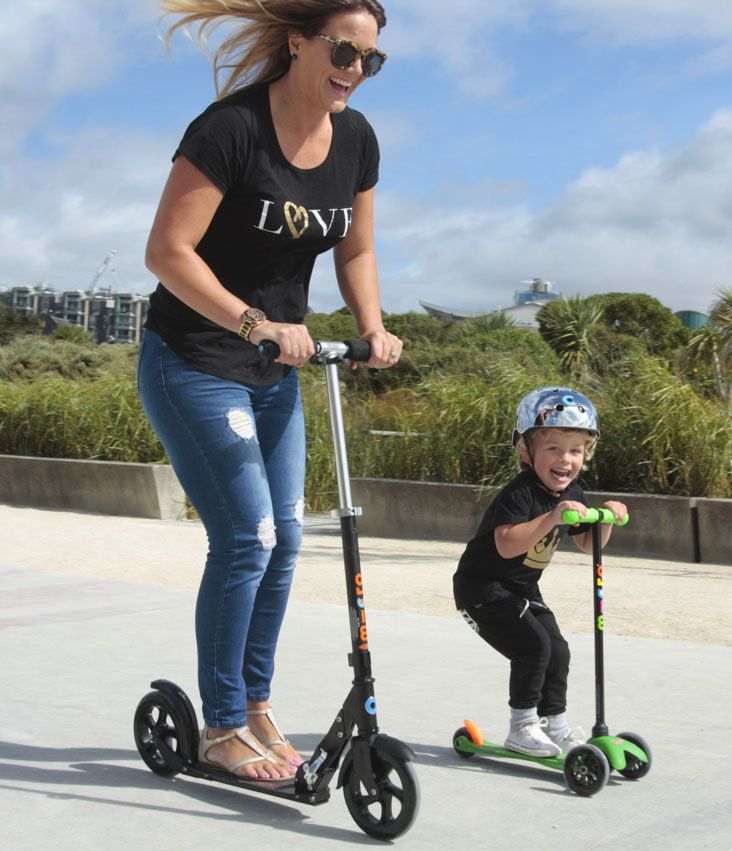 A scooter is the perfect gift for mum this Mother's Day! She will keep up, stay fit, save time and have happy kids :)  #scooter #mother'sday #fun #kids #active #mum