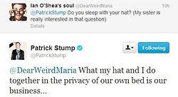 twitter fob fall out boy Patrick Stump patrick stump tweets p ...