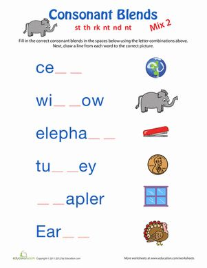 7 best phonics 1st grade images on Pinterest   Consonant ...