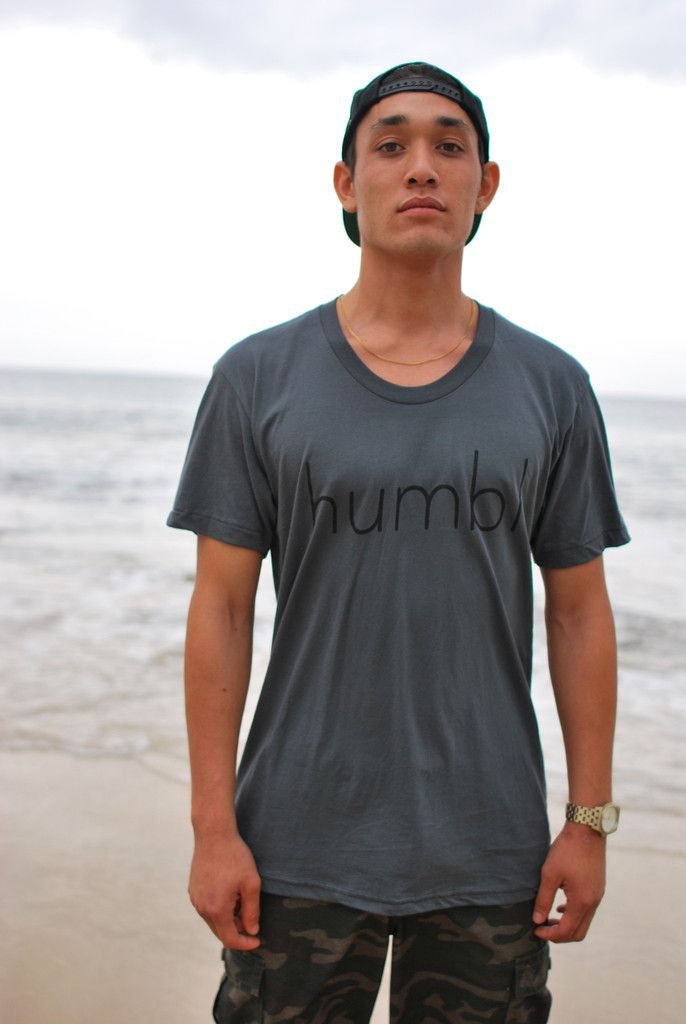 The Humbl Tee Men  $26.00 Available in S-XL sizes Available in white, asphalt and gray colors  Check out and buy this tee and other humbl collection here http://humblhawaii.com/