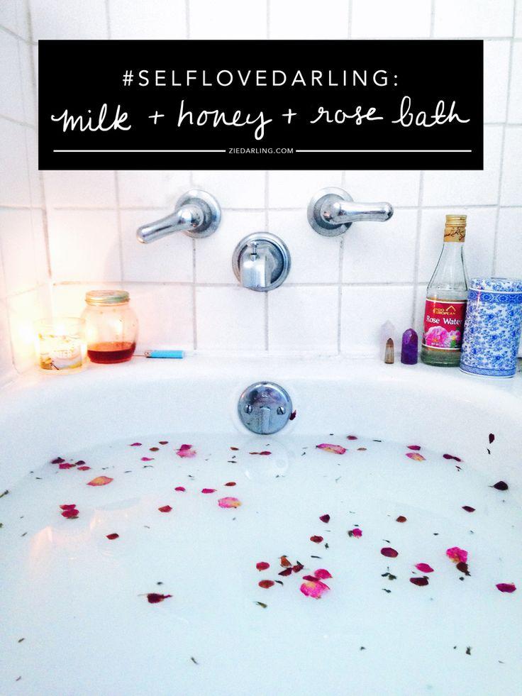 Milk + Honey + Rose Bath / Zie Darling