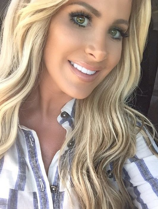 kim zolciak-she is beautiful! I don't care if it's been enhanced by modern medicine. I say job well done!