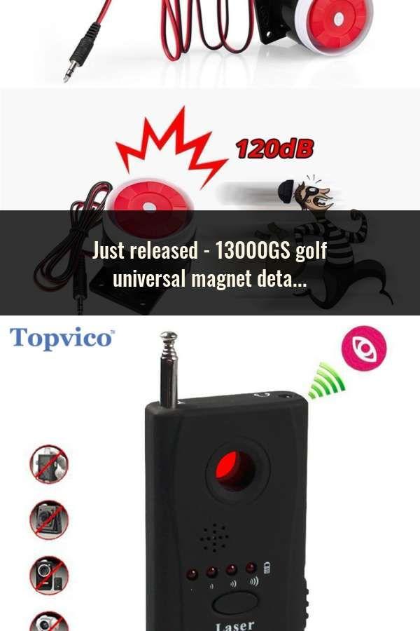 13000GS golf universal magnet detacher anti shoplifting