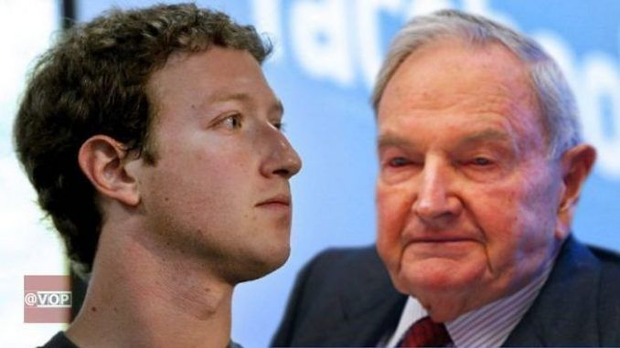Conspiracy Theorists Claim Mark Zuckerberg Is David Rockefeller's Grandson