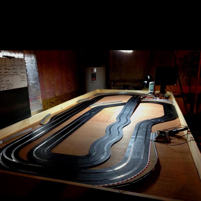 My new Scalextric track