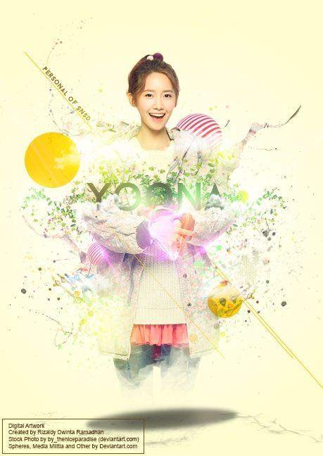Digital Artwork - Shine Of Yoona | Kreavi.com