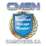 Qualified Storage Member Emblem. If you present Storage service you can become a member of CMSN and receive the Emblem! www.camovers.ca
