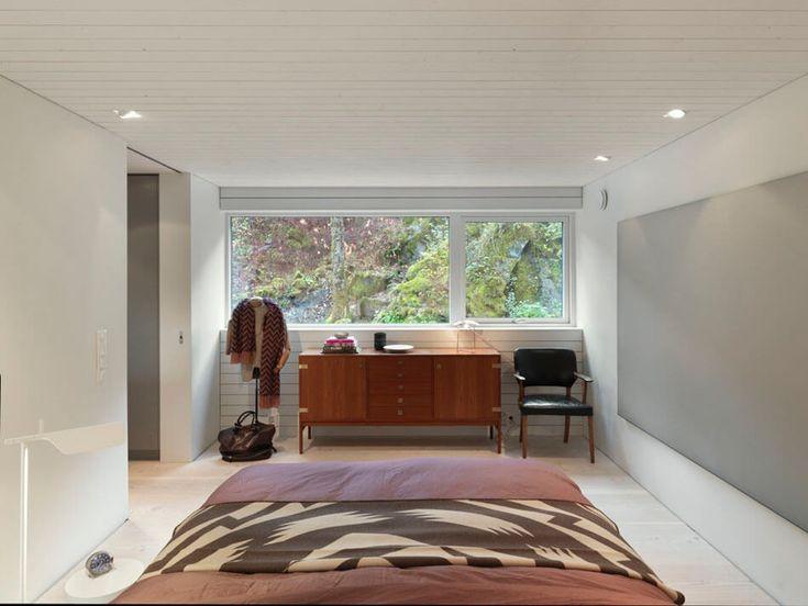 Dark Modern Home In Norway Showcases Impressive Unusual Architecture