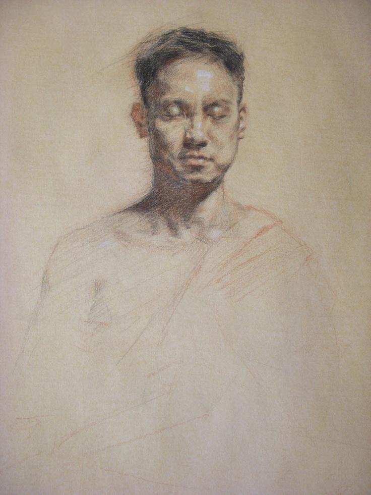 TERESA OAXACA - trois crayons