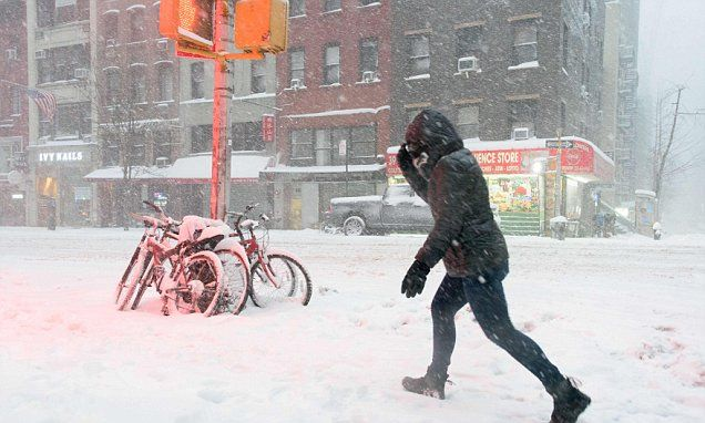 Record cold could strike 'almost the entire US' #DailyMail