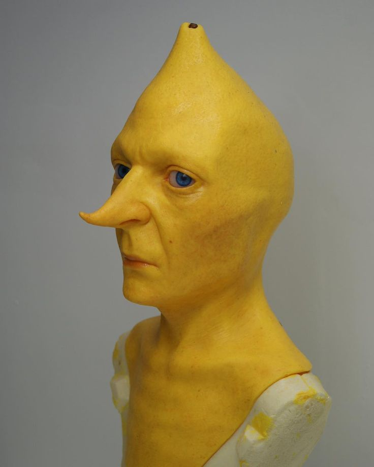 Incredibly Realistic Busts of Ice King & Lemongrab From Adventure Time