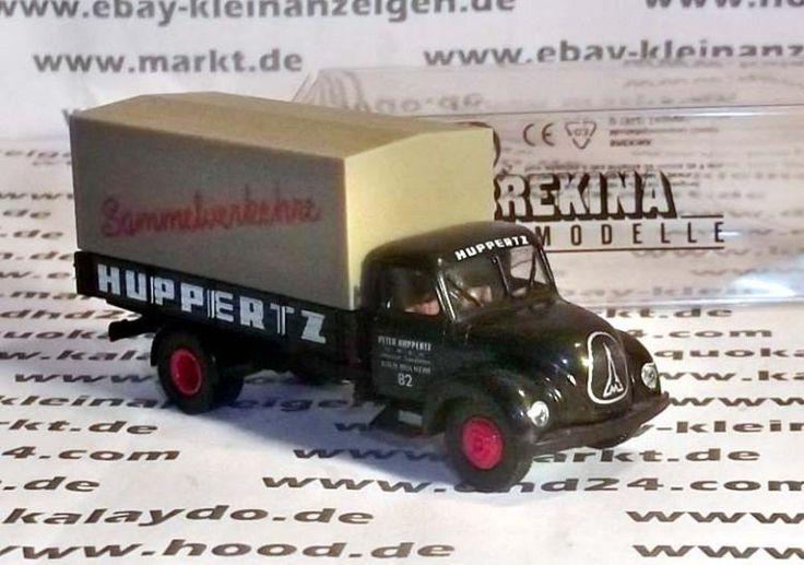Brekina 1 zu 87 42203 Magirus Rundhauber LKW Huppertz Spedition