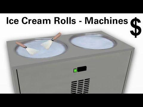 ► Klick Here to get fried Ice Cream Rolls Machine $ Informations / Ice P...