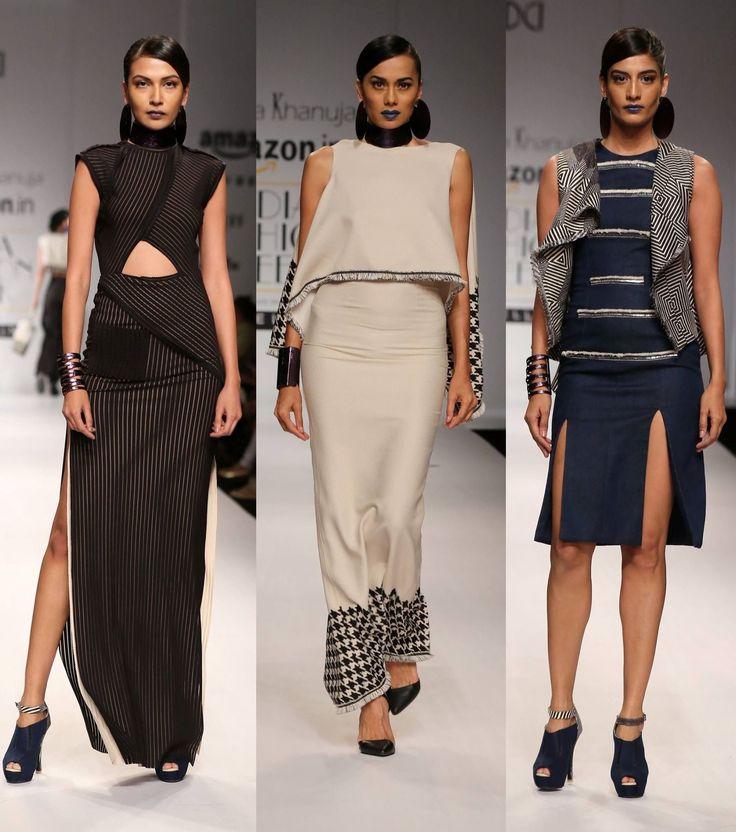 Summer's goth inspirations at Tanieya Khanuja  #SS16 #fashion #trends #aifw