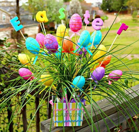70 Awesome Outdoor Easter Decorations For A Special Holiday
