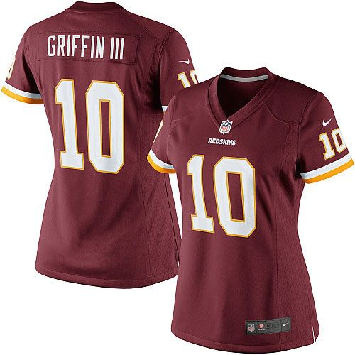 online store 1a0c1 4b471 Nike Robert Griffin III Washington Redskins Womens Limited Jersey –  Burgundy Mens - Nike Washington Redskins 10 Elite White Road Autographed NFL  ...