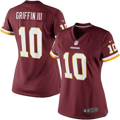 005b8738e Nike Robert Griffin III Washington Redskins Womens Limited Jersey –  Burgundy Mens - Nike Washington Redskins 10 Elite ...