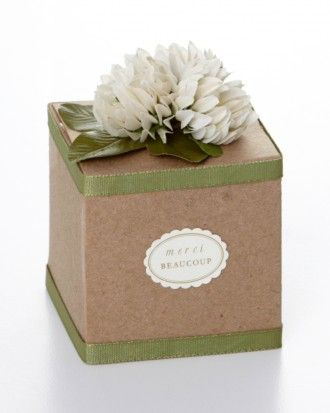 "See the ""Flowered Favor Box"" in our 10 Ways to Decorate a Favor Box gallery"