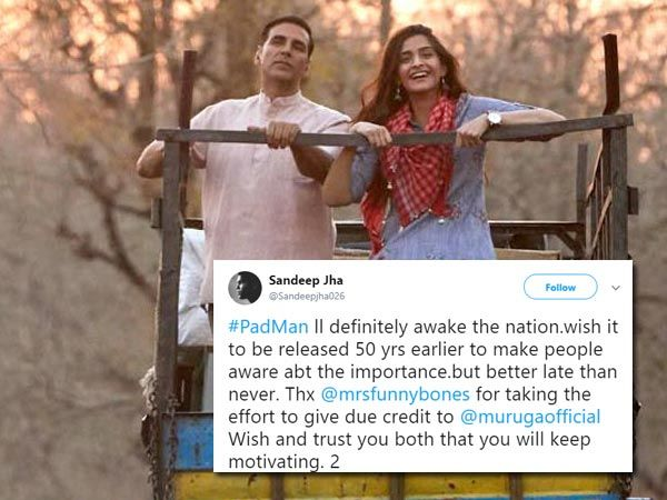 The live audience movie review of Akshay Kumars PadMan is here. The movie  has hit the screens today (9th Jan) and it challenges taboos surrounding ...