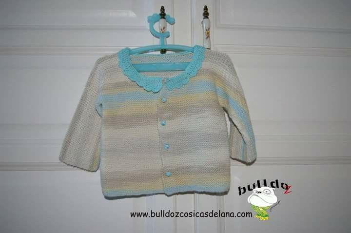 Chaqueta de algodon bebe.12-9 meses