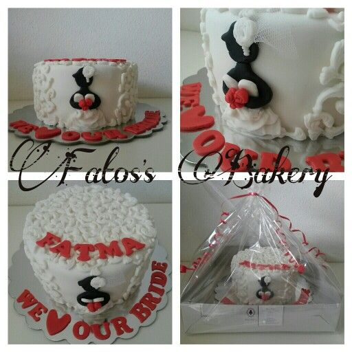 Bachelors party cake