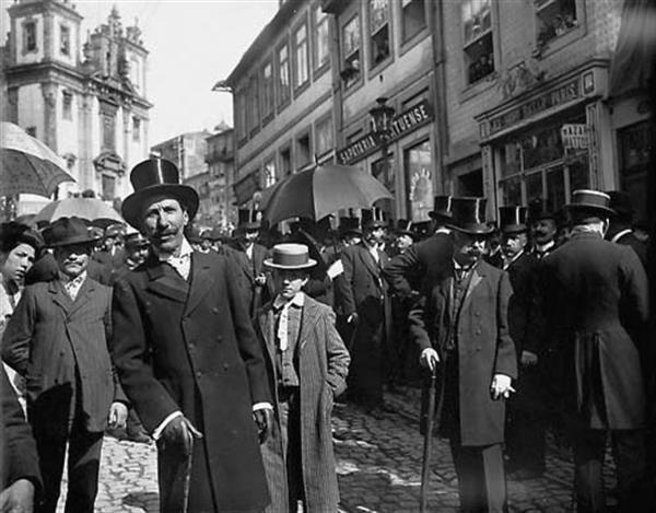 Rua 31 de Janeiro, Porto, Portugal 1900s