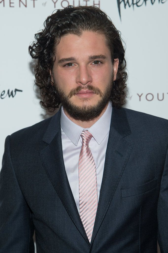 Game of Thrones star Kit Harington brought his sexy stare to the red carpet — he looks awfully dapper in a suit, doesn't he?