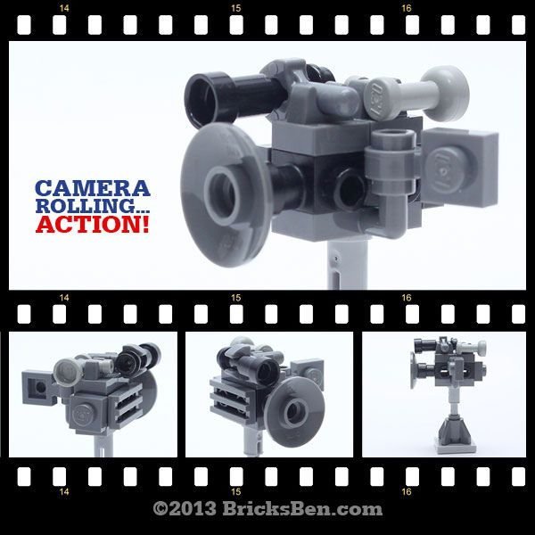 BricksBen - LEGO Micro Videocamera   by BricksBen LEGO® Creations
