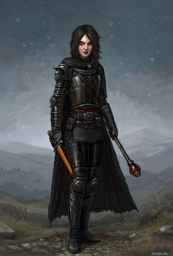Lady Antipaladina Blackguardess by SirTiefling | Female ...
