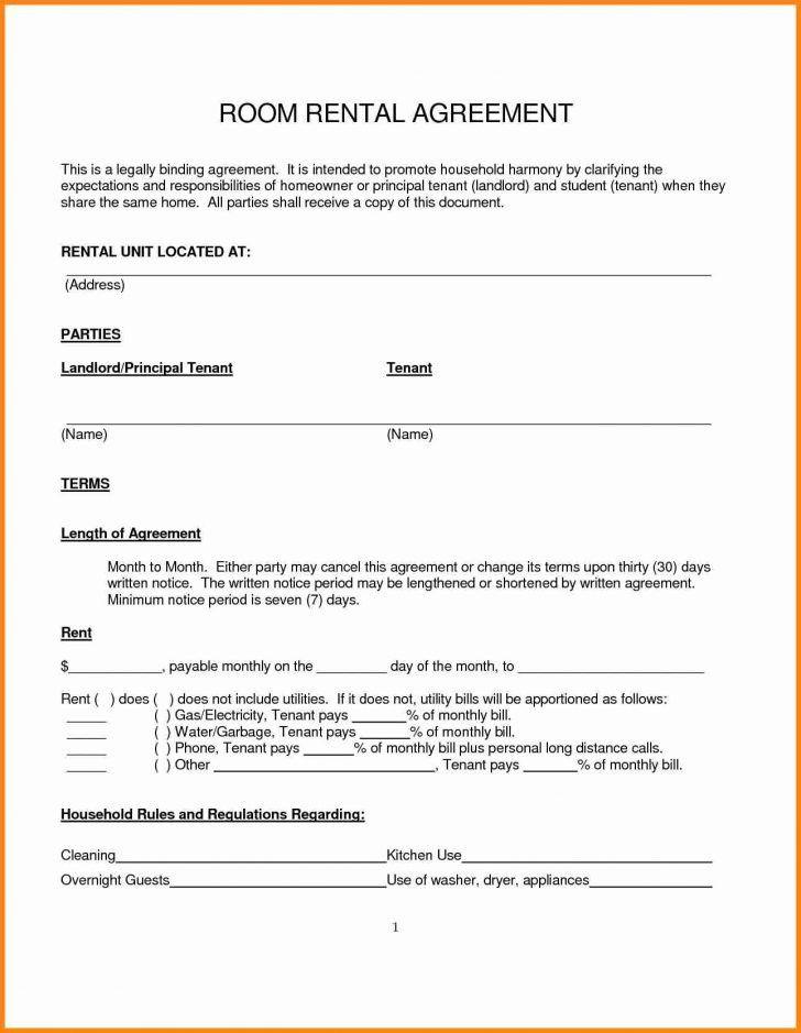 40 Simple Rental Lease Agreement Rh1r Room Rental Agreement Rental Agreement Templates Lease Agreement