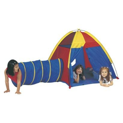 PACIFIC PLAY TENTS® Hide Me Tent and Tunnel - Multicolor $42.99